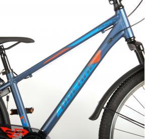 Volare Cross Bicyclette pour enfants - Garçons - 26 pouces - Bleu Vert - 7 vitesses - Prime Collection