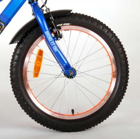 NERF Vélo pour enfants - Garçons - 18 pouces - Bleu satiné
