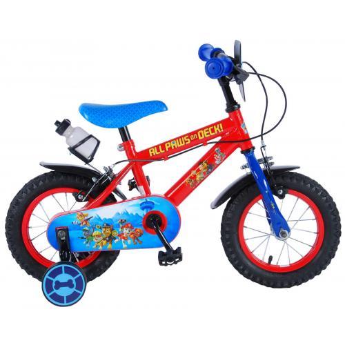 Vélo Paw Patrol Kids - Garçons - 12 po - Rouge/Bleu - 2 freins à main