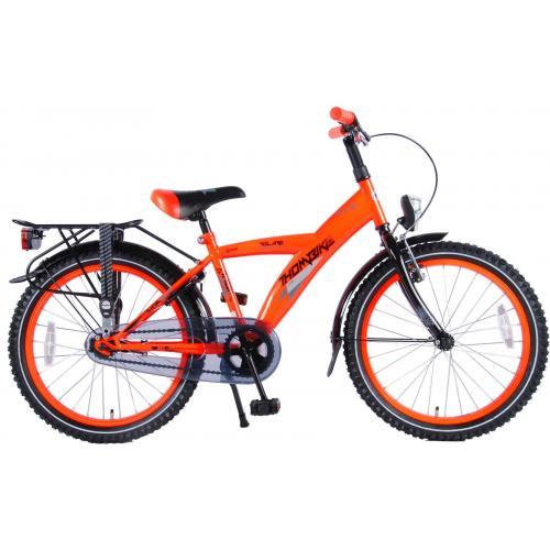 Volare Thombike City Vélo d'enfant - Garçons - 20 pouces - Néon Orange - 95% assemblé