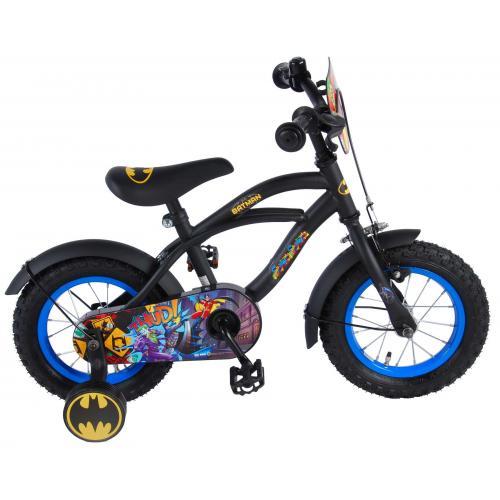 Vélo enfant Batman - garçon - 12 po - noir