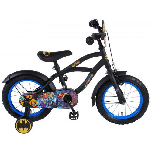 Vélo enfant Batman - garçon - 14 po - noir