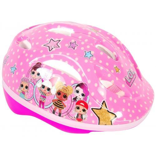 LOL Surprise Casque de vélo pour filles - Casque de patinage 51-55 cm