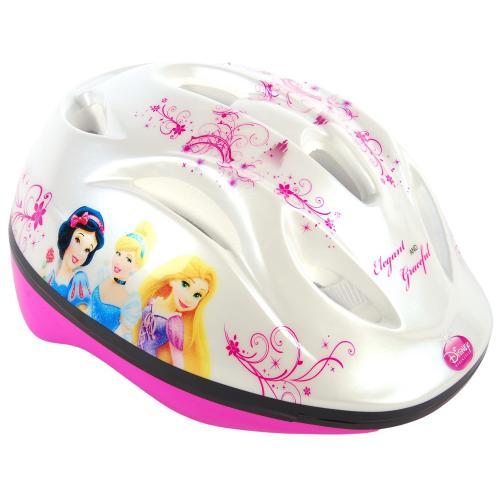 Casque de vélo Disney Princess - rose blanc - 51-55 cm