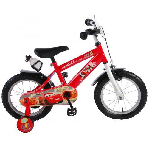 Vélo enfant Disney Cars - garçon - 14 po - rouge