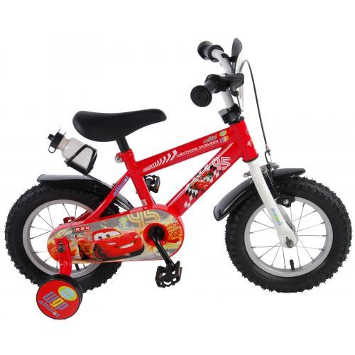 Vélo enfant Disney Cars - garçon - 12 po - rouge