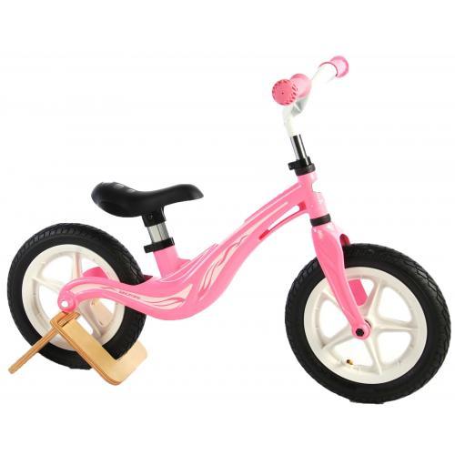 Vélo de marche au magnésium Volare - Filles - 12 pouces - Rose