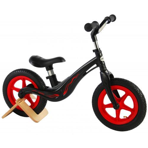 Vélo de marche au magnésium Volare - Garçons et filles - 12 pouces - Noir