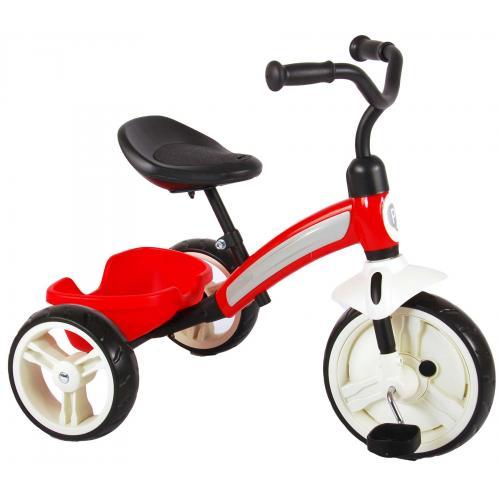 Tricycle d'élite QPlay  Garçons et filles rouges