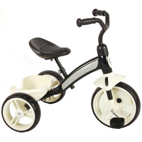 QPlay Elite Tricycle - Garçons et filles - Noir