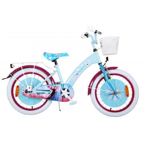 Vélo Disney Frozen 2 Kids - Filles - 18 pouces - Bleu/Violet -  assemblé à 95%
