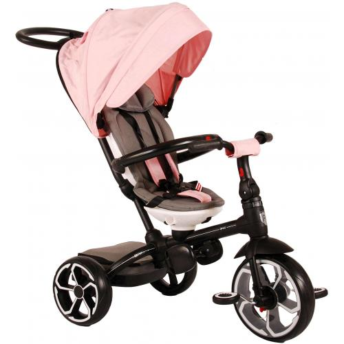 Qplay Tricycle Prime 4 en 1 - Filles - Rose