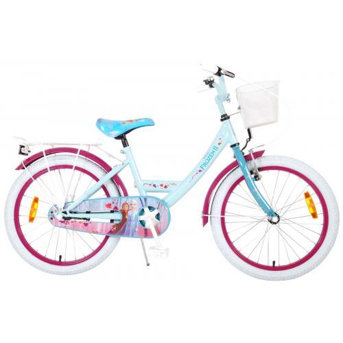 Vélo Disney Frozen 2 Kids - Filles - 20 pouces - Bleu/Violet