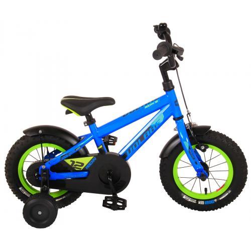 Vélo Enfant Volare Rocky - Garcon - 12 po - Bleu - assemblé à 95 %