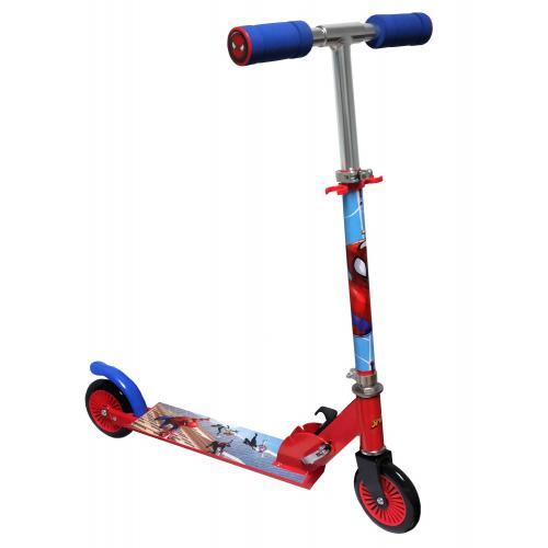 Spiderman Inline Scooter - Enfants - Rouge Bleu