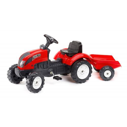 Falk Garden Master - Garçon - Rouge - Tracteur à pédales