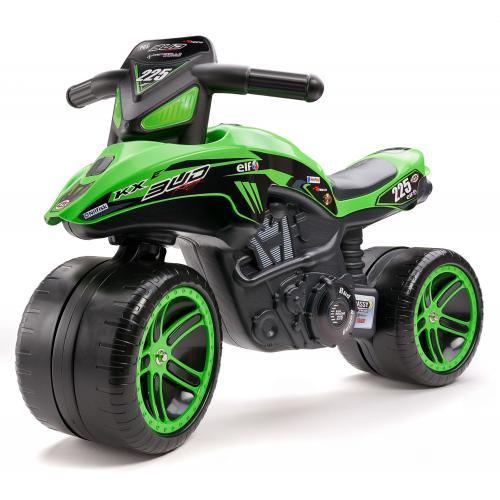 Falk Kawasaki Bud Racing Team Motor - Vert - Garçons - Vélo d'équilibre