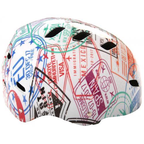 Casque Volare vélo/skate - Travel the World - 55-57 cm