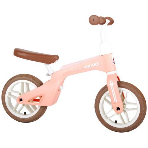 Vélo de marche Volare - Garçons et filles - 10 pouces - rose