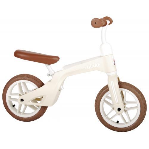 Vélo de marche Volare - Garçons et filles - 10 pouces - Crème