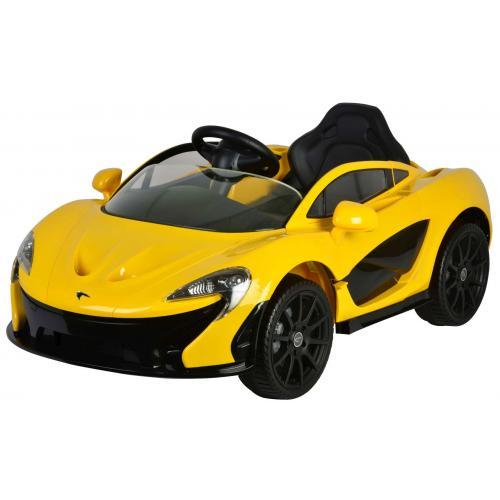 McLaren P1 - Jaune - Voiture électrique avec télécommande - 12 Volt