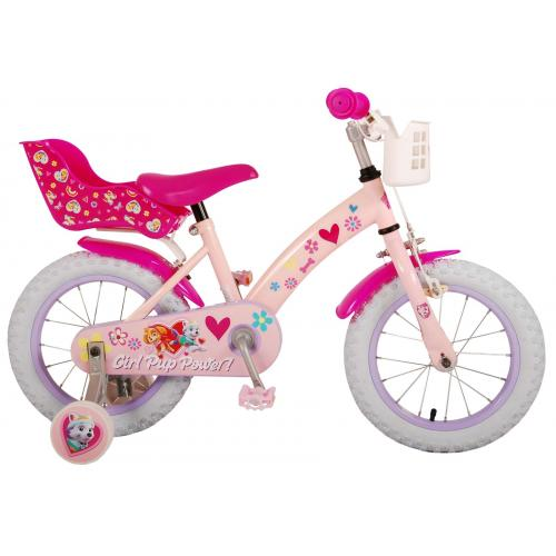 Vélo Paw Patrol Kids - Filles - 14 pouces - Rose