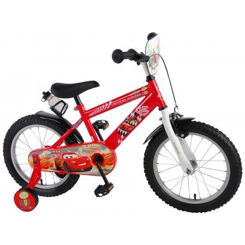 Vélo pour enfants Disney Cars - Garçons - 16 pouces - Rouge