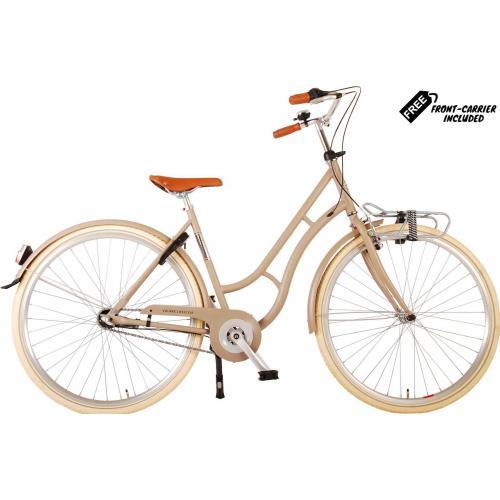 Volare Lifestyle Vélo pour femmes - Femmes - 28 pouces - 43 centimètres - Sable - Shimano Nexus 3 vitesses