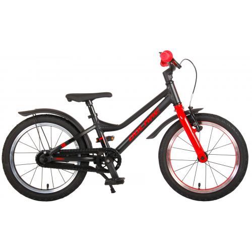 Volare Blaster Bicyclette pour enfants - Garçons - 16 pouces - Noir Rouge - Prime Collection
