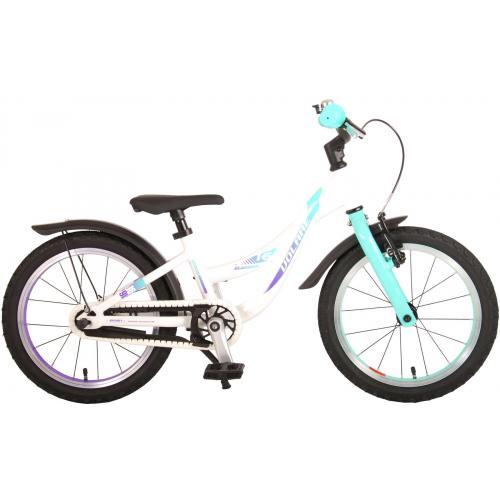 Volare Glamour Bicyclette pour enfants - Filles - 16 pouces - Vert menthe perlée - Prime Collection