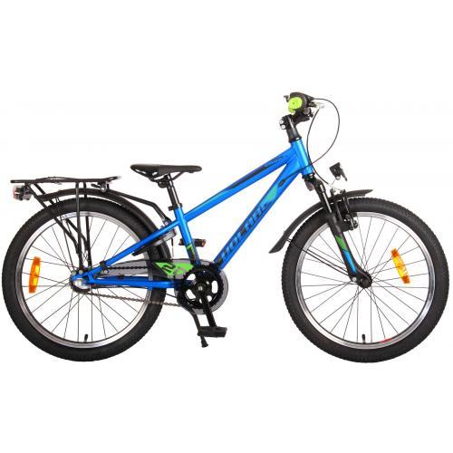 Vélo enfant Volare Cross - Garçons - 20 pouces - Bleu Vert - Shimano Nexus 3 vitesses - Prime Collection