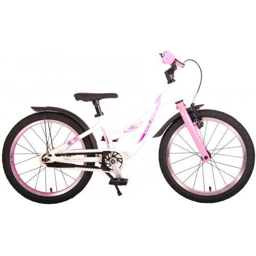Volare Glamour Bicyclette pour enfants - Filles - 18 pouces - rose menthe perlée - Prime Collection