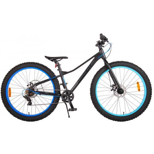 Volare Gradient Vélo pour enfants - Garçons - 26 pouces - Noir Bleu - 7 vitesses - Prime Collection