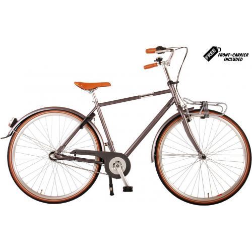 Volare Lifestyle Vélo pour homme - Homme - 56 centimètres - Gris - Shimano Nexus 3 vitesses