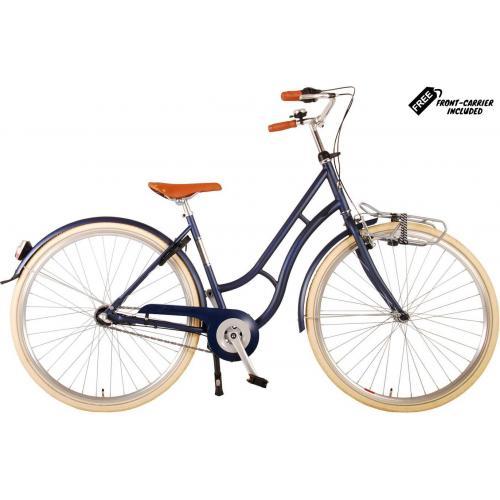 Volare Lifestyle Vélo pour femmes - Femmes - 43 centimètres - Jeans Bleu - Shimano Nexus 3 vitesses
