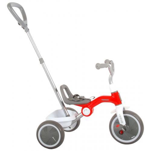 QPlay Tricycle Tenco - Garçons et filles - Rouge