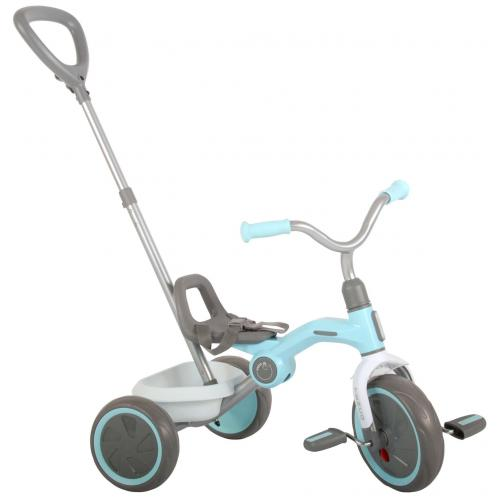 QPlay Tricycle Tenco - Garçons et filles - Bleu Pastel