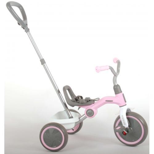 QPlay Tricycle Tenco - Garçons et filles - Rose Pastel