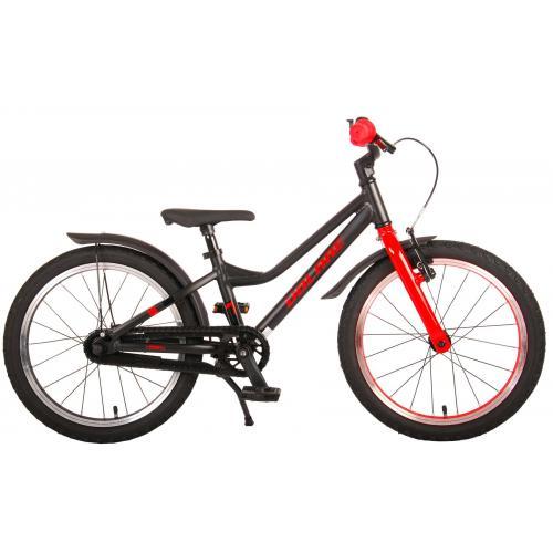 Volare Blaster Bicyclette pour enfants - Garçons - 18 pouces - Noir Rouge - Prime Collection