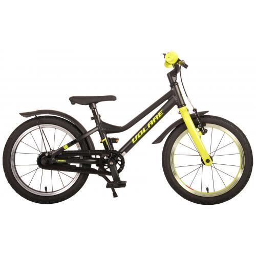 Volare Blaster Bicyclette pour enfants - Garçons - 16 pouces - Noir Vert - Prime Collection