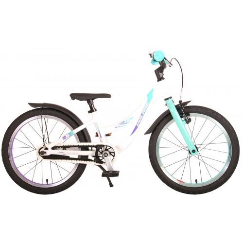 Volare Glamour Bicyclette pour enfants - Filles - 18 pouces - Vert menthe perlée - Prime Collection
