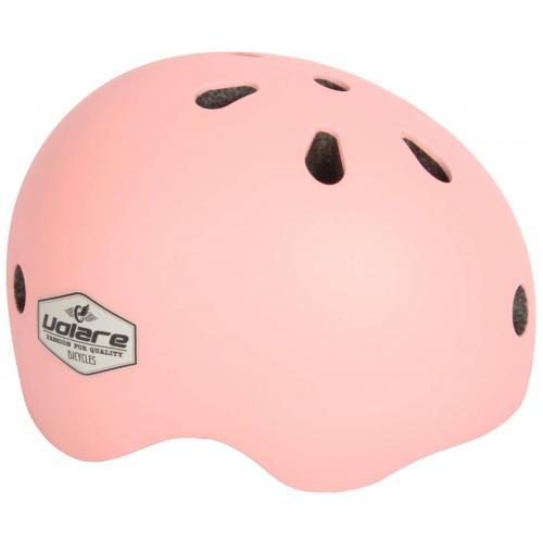 Casque de vélo Volare - Enfants - rose pâle - 51-55 cm