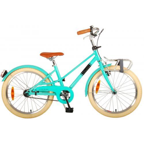 Vélo pour enfants Volare Melody - Filles - 20 pouces - turquoise - Prime Collection