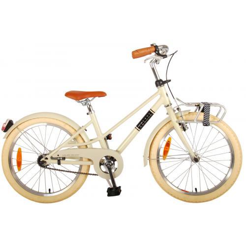 Vélo pour enfants Volare Melody - Filles - 20 pouces - sable - Prime Collection