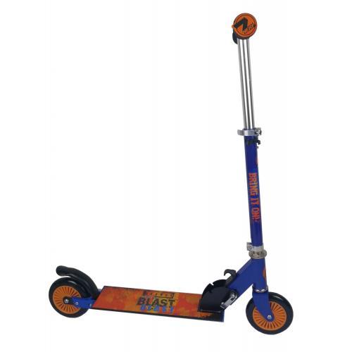 NERF Inline Scooter - Enfants - Bleu satiné