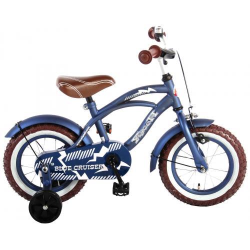 Vélo enfant Volare Blue Cruiser - garçon - 12 po - bleu - assemblé à 95%
