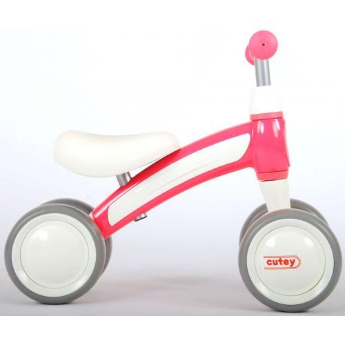 QPlay Cutey Ride On Walking Bike - Garçons et filles - rose