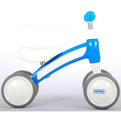 QPlay Cutey Ride On Walking Bike - Garçons et filles - bleu