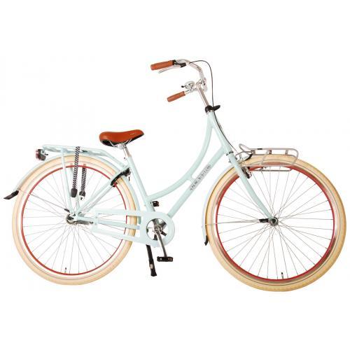 Volare Classic Oma Bicyclette pour femmes - 45 centimètres - Bleu pastel