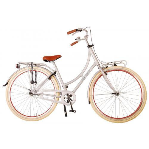 Volare Classic Oma Bicyclette pour femmes - 28 pouces - 45 centimètres - Argent Mat